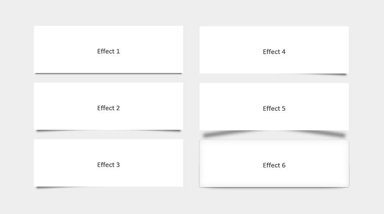 box-shadowを使って、紙がふわりと浮かんだようなエフェクトをつけるスタイルシートのまとめ | コリス