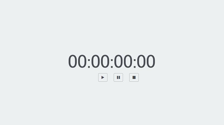 Stopwatch in CSS - CSS3だけで実装されたストップウォッチ MOONGIFT