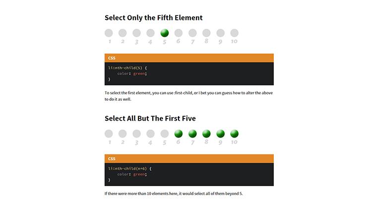 Useful :nth-child Recipes   CSS-Tricks