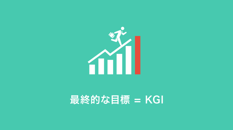 そもそもKGI(Key-Goal-Indicator)とは?